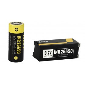 iJoy - iJoy INR26650 4200mAh - 40A Li-Ni rechargeable battery - Other formats - NK411-CB www.NedRo.us