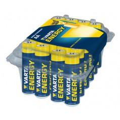 Varta, 24-Pack - AA R6 Varta Longlife Alkaline battery, Size AA, BS320-CB