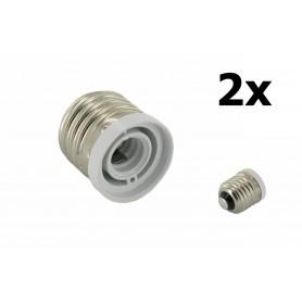 NedRo - E27 to E12 Socket Converter - Light Fittings - LCA17-CB www.NedRo.us