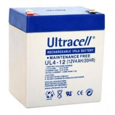 Ultracell - Ultracell VRLA / Lead Battery 4000mah (UL4-12) - Battery Lead-acid  - BS325