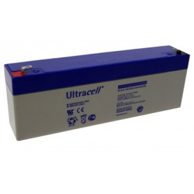 Ultracell - Ultracell VRLA / Lead Battery 2600mAh (UL2.6-12) - Battery Lead-acid  - BS326 www.NedRo.us