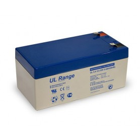 Ultracell - Ultracell VRLA / Lead Battery 3400mAh (UL3.4-12) - Battery Lead-acid  - BS327 www.NedRo.us