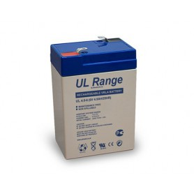 Ultracell, Ultracell VRLA / Lead Battery 4500mAh (UL4.5-6), Battery Lead-acid , NK419