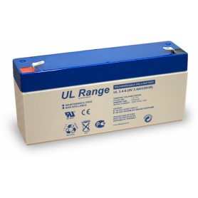 Ultracell, Ultracell VRLA / Lead Battery 3400mAh 6V (UL3.4-6), Battery Lead-acid , BS328