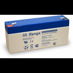 Ultracell - Ultracell VRLA / Lead Battery 3400mAh 6V (UL3.4-6) - Battery Lead-acid  - BS328