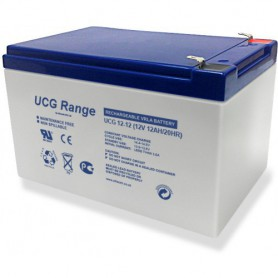Ultracell, Ultracell Deep Cycle Gel UCG 12V 12000mAh Rechargeable Lead Acid Battery, Battery Lead-acid , NK420, EtronixCenter...