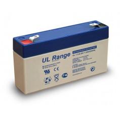 Ultracell - Ultracell VRLA / Lead Battery 1300mAh 6V (UL1.3-6) - Battery Lead-acid  - BS330