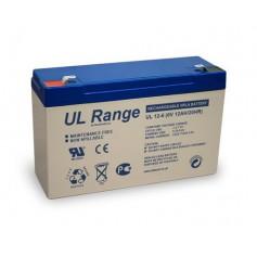 Ultracell VRLA / Lead Battery 12000mAh 6V (UL12-6)