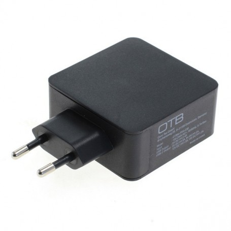 HOCO - Fast Charging USB DUAL (USB-C + USB-A ) with USB-PD - 30W - Ac charger - ON6252 www.NedRo.us