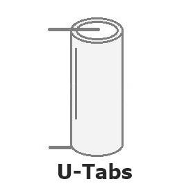 SAFT - U-Tag SAFT LS14500 / AA lithium battery 3.6V - Size AA - NK097-CB www.NedRo.us