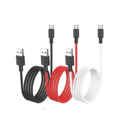 HOCO - HOCO USB to USB Type C X29 Carbon Cable - USB to USB C cables - H100163-CB