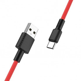 HOCO - HOCO USB to USB Type C X29 Carbon Cable - USB to USB C cables - H100163-CB www.NedRo.us