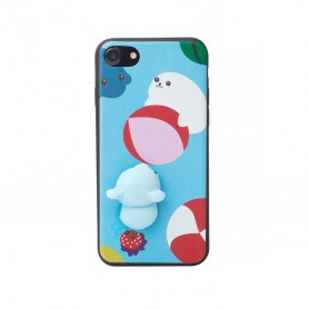 Oem - 3D TPU Case for Apple iPhone X / XS - iPhone phone cases - H60336