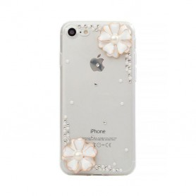 Oem - 3D Diamond TPU Case for Apple iPhone X / XS - iPhone phone cases - H60331