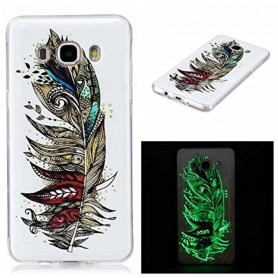 Oem - TPU case Glow in the dark for Apple iPhone X / XS - iPhone phone cases - H70015