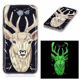 Oem - TPU case Glow in the dark for Apple iPhone X / XS - iPhone phone cases - H70016
