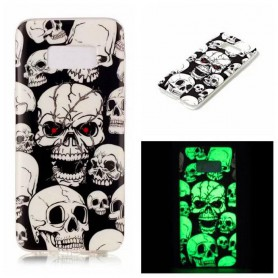 Oem - TPU case Glow in the dark for Apple iPhone X / XS - iPhone phone cases - H70019