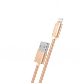 HOCO - Hoco Knitted X2 Lightning to USB 2.0 Data Cable for Apple iPhone - iPhone data cables  - H100167-CB www.NedRo.us