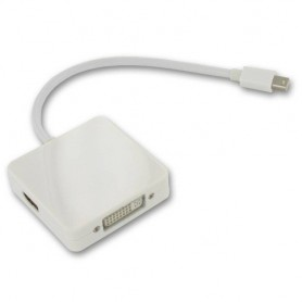 NedRo, 3in1 Mini DisplayPort to DVI, HDMI and DisplayPort YPC277, DVI and DisplayPort adapters, YPC277