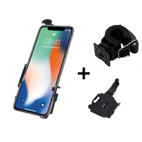 Haicom - Haicom phone holder for Apple iPhone XS MAX FI-518 - Bicycle phone holder - HI011-SET-CB www.NedRo.us