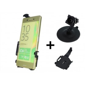 Haicom, Haicom phone holder for Sony Xperia X Periformance, Car dashboard phone holder, HI016-SET-CB