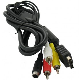 NedRo, 1.8M S-Video AV + RCA (composite) cable for PS2 PS3 YGP576, PlayStation 2, YGP576