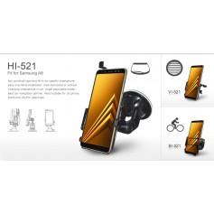 Haicom - Haicom phone holder for Samsung Galaxy A8 HI-521 - Bicycle phone holder - HI141-SET-CB