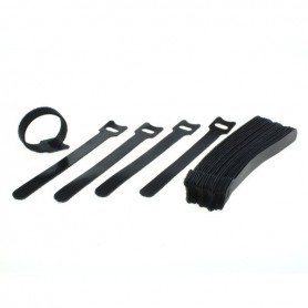 OTB - Cable management - Velcro tape 25 pcs 15cm - Various computer accessories - ON6265 www.NedRo.us
