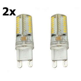 NedRo - G9 7W Warm White 64LED`s SMD3014 LED Lamp AL300-7WW - G9 LED - AL300-7WW-CB www.NedRo.us