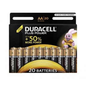Duracell - Duracell Plus Power LR6 / AA / R6 / MN 1500 1.5V Alkaline battery - Size AA - BS336-CB