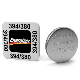 Energizer, Energizer Watch Battery 394 / 380 AG9 SR936SW 60mAh 1.55V, Button cells, BS337-CB
