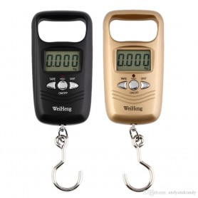 unbranded, Digital luggage travel scale with hook up to 50 kg, Digital scales, AL317-CB