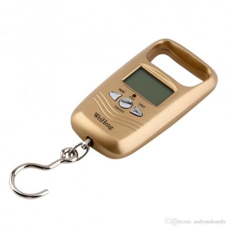 Oem - Digital luggage travel scale with hook up to 50 kg - Digital scales - AL317-CB