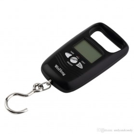 NedRo - Digital luggage travel scale with hook up to 50 kg - Digital scales - AL317-CB www.NedRo.us