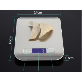 NedRo - Digital Precision Kitchen Scale - Up to 5000g 5Kg - Digital scales - AL318-CB