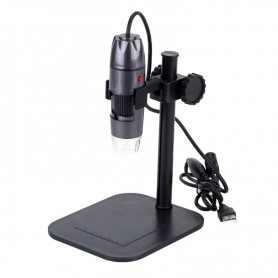 Datyson Optics - USB Digital Microscope with 800x with LED lighting and standard - Magnifiers microscopes - AL323 www.NedRo.us