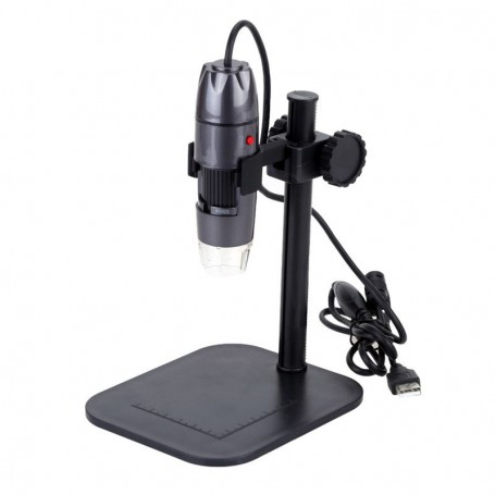 Datyson Optics - USB Digital Microscope with 800x with LED lighting and standard - Magnifiers microscopes - AL323