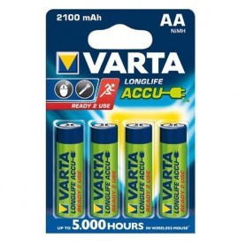 Varta, VARTA AA / Micro / HR06 2100mAh 1.2V Rechargeable Battery, Size AA, BS138-CB