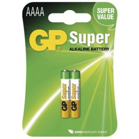 GP - GP Super AAAA MX2500 E96 LR8D425 MN2500 - Other formats - BS339-CB