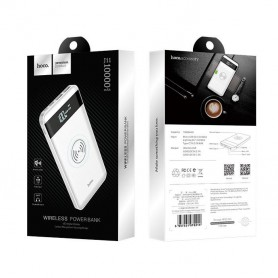HOCO - HOCO Wireless Power Bank 10000mAh Astute J11 - Powerbanks - H61120-CB www.NedRo.us