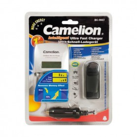 Camelion, Camelion BC-0907 AA AAA EU-Plug Ultra fast battery charger, Battery chargers, BC-0907