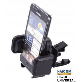 Haicom, Haicom HI-250 Universal 4 to 10.5 cm Phone Holder, Car dashboard phone holder, FI-250-CB