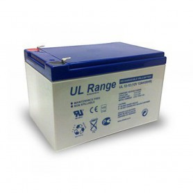 Ultracell - Ultracell UL12-12 12V 12Ah 12000mAh Rechargeable Lead Acid Battery - Battery Lead-acid  - NK402 www.NedRo.us