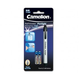 Camelion, Camelion pen lamp including 2x AAA batteries, Flashlights, BS345