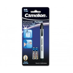 Camelion - Camelion pen lamp including 2x AAA batteries - Flashlights - BS345