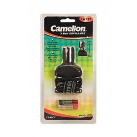 Camelion, Camelion 3W LED Headlamp 130Lm + 3x AAA batteries, Flashlights, BS346