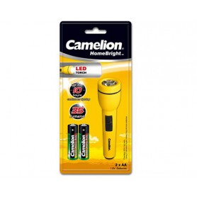 Camelion - Camelion flashlight including 2x AA batteries - Flashlights - BS348-CB