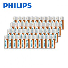 PHILIPS - Philips Power Pack - Longlife Alkaline AA + AAA - Size AAA - BS350-CB www.NedRo.us