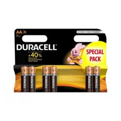 Duracell - Duracell LR6 / AA / R6 / MN 1500 1.5V Alkaline battery - Size AA - BS354-CB