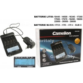Camelion - Camelion CM-500 Lithium-ion / Ni-MH battery charger - Battery chargers - BS358 www.NedRo.us